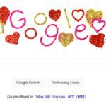 Google đổi logo ngày Valentine's Day 2021