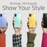 Xiaomi ra mắt smartphone siêu mỏng nhẹ Mi 11 Lite 5G và Mi 11 Lite