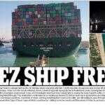 Tàu container 220.000 tấn được giải thoát và Kênh đào Suez được giải cứu