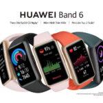 Hơn 3.500 vòng đeo tay thông minh HUAWEI Band 6 đầu tiên đã được đặt mua tại Việt Nam