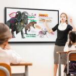 Bảng tương tác Samsung Flip 3 kích thước 75 inch cho giáo dục
