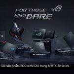 ASUS ROG công bố ultrabook Flow X13 và dải sản phẩm gaming sử dụng đồ họa NVIDIA GeForce RTX 30 series