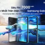 Samsung Galaxy M62 với siêu pin 7.000mAh lớn nhất trên điện thoại Galaxy