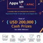 Huawei Mobile Services phát động cuộc thi ứng dụng AppsUP năm thứ hai tại Châu Á – Thái Bình Dương
