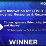 Giải pháp khám bệnh từ xa dựa trên mạng 5G của Huawei đạt Giải thưởng GSMA GLOMO 2021