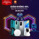 Xiaomi Việt Nam ưu đãi giá vào ngày 5-8-2021