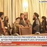 Afghanistan thất thủ rơi trở lại vào tay Taliban