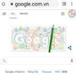 Google chào đón năm học mới bằng Doodle Tựu trường