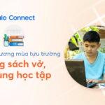 Hỗ trợ đồ dùng học tập cho học sinh khó khăn qua Zalo Connect